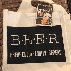Handbags - BEER holder or tote for parties